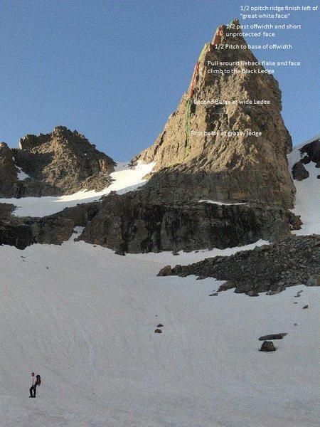 Sharkstooth NE Ridge