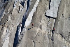 Rock Climbing Photo: The King Swing  credit: Tom Evans