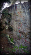 Rock Climbing Photo: Look at that little dog, just waiting to pick up t...