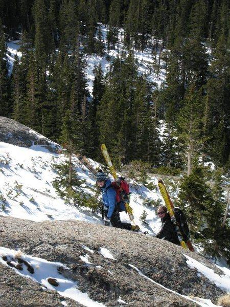 Rock Climbing Photo: on the way to stone man pass