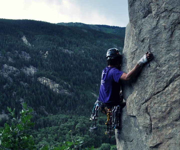 Rock Climbing Photo: Indy pass