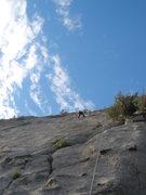 Rock Climbing Photo: Steve toproping the Dutchman.