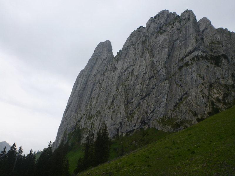 Bockmattli nordwarnd (left) and little Bockmattli