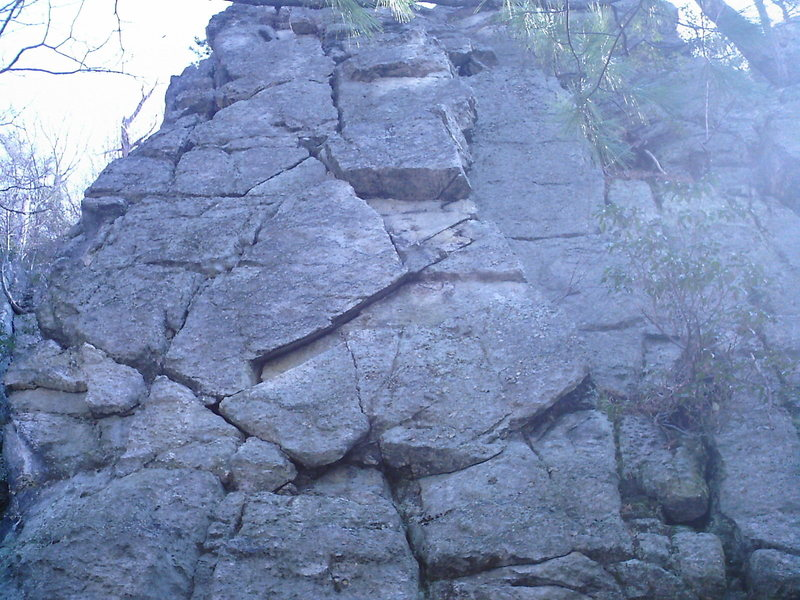Rock Climbing Photo: Zorro Was Here Areas west facing wall.