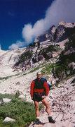 Rock Climbing Photo: On descent after climbing Exum Ridge on Grand Teto...