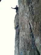 Rock Climbing Photo: Rob Miklia first climb up the original wall i wish...