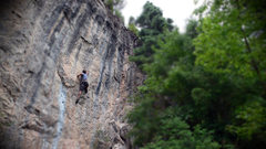 Rock Climbing Photo: This is one of the routes that was stripped.