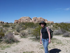 Rock Climbing Photo: Centee Crag, Joshua Tree