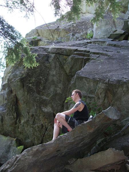 Rock Climbing Photo: Exit 38.