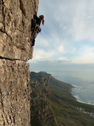 Rock Climbing Photo: Jacob's Ladder, Table Mountain, Capetown