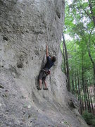 Rock Climbing Photo: Here you can see how the landing isn't the nicest....