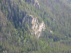 Rock Climbing Photo: 4 Stories photo revealing the Steepness