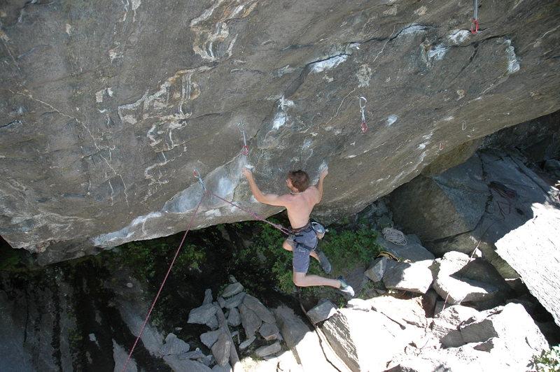 Rock Climbing Photo: Stone Monkey, Rumney, NH