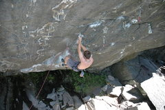 Rock Climbing Photo: Stony Monkey, Rumney, NH