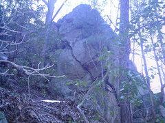 Rock Climbing Photo: The Arête Wall  aka  The Rock One Area wall.