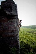 Rock Climbing Photo: Ryan on Jolly Roger.