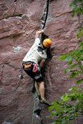 Rock Climbing Photo: Ryan sending Sometimes Crack