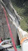 Rock Climbing Photo: Above the HF