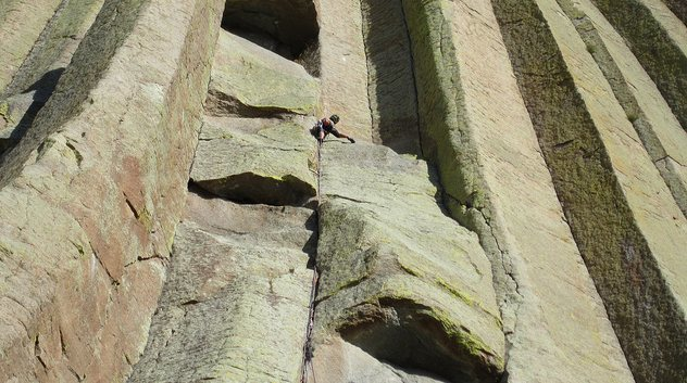 Rock Climbing Photo: McCarthy West Face