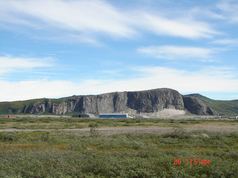 Rock Climbing Photo: Cliffs around Kangerlussuaq. Sondre Stromfjord, Gr...