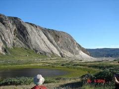 Rock Climbing Photo: Kangerlussuaq.