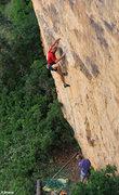 Rock Climbing Photo: Steep, boulder problem start Raising Awareness (5....