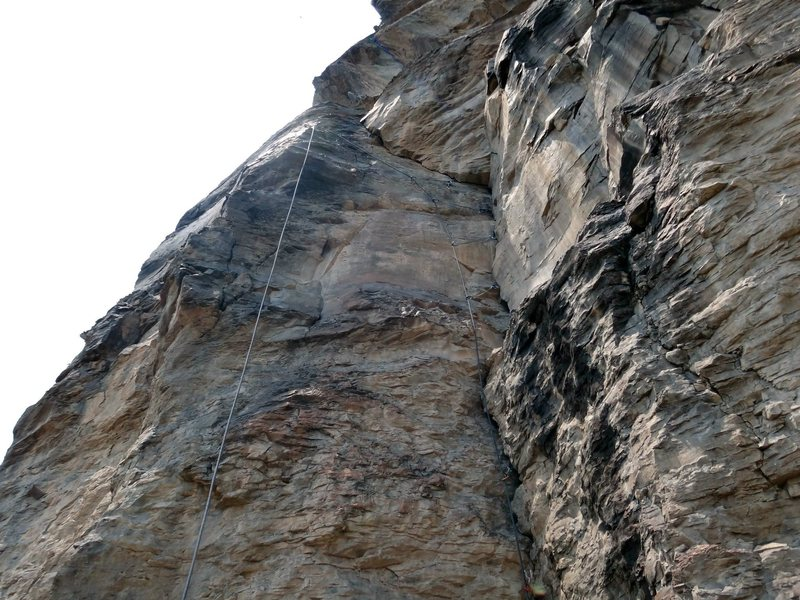 "Rock Climbing Photo: Pic showing route ""26"""