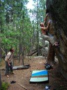 Rock Climbing Photo: Another year on Orange Roughy, wonder how many yea...