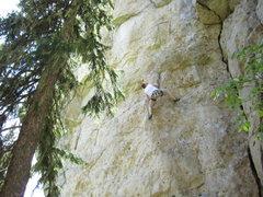Rock Climbing Photo: Mark...is baaackkk in the saddle again!!