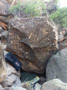Rock Climbing Photo: Another amazing project, this boulder is hard!
