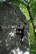 Rock Climbing Photo: Hannah enjoying this nice highball