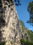 Rock Climbing Photo: Look at all that Blue Sky.  A view of the Iron Hor...