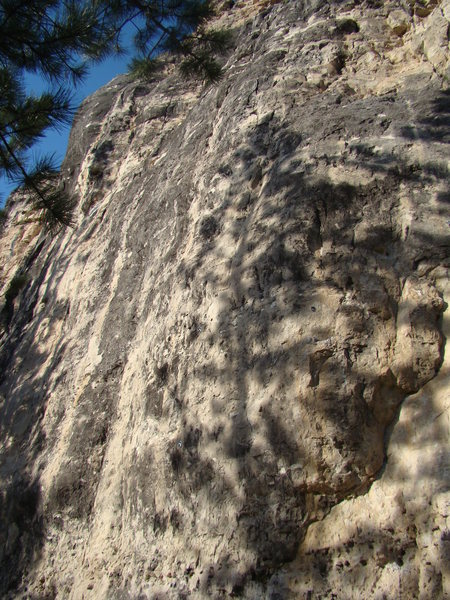 Rock Climbing Photo: Engine Number 9 a stellar 5.11a/b with bouldery op...