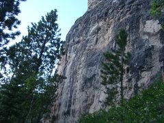 Rock Climbing Photo: The Iron Horse Wall.