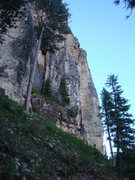 Rock Climbing Photo: Walking into the Indecent Exposure area, the first...