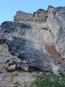 Rock Climbing Photo: Another look at the crack climbs known as Himalayb...