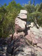 Rock Climbing Photo: Start on the right edge, finish on the left corner...