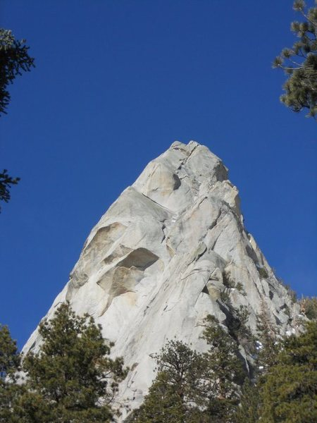 Rock Climbing Photo: View from Meysen Lakes trail of upper Arc