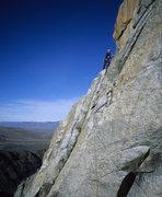Rock Climbing Photo: Upper Slabs