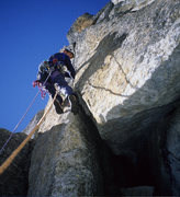 Rock Climbing Photo: Lower section of P11