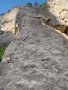 Rock Climbing Photo: From the start of Dragonfly. Get on this slab! Whe...
