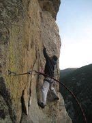 Rock Climbing Photo: Andy Nguyen sews up Moby Dike. Photo by Chris Perk...