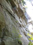 Rock Climbing Photo: Tennish on TR
