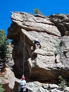 Rock Climbing Photo: Left version.
