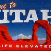 Welcome to Utah.<br> Photo by Blitzo.