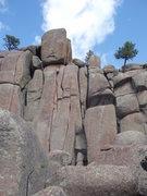 Rock Climbing Photo: Honky Jam.