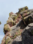 Rock Climbing Photo: The West Face/spooky (for the first time) downclim...