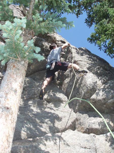 Rock Climbing Photo: Start.