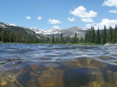 Rock Climbing Photo: Lost Lake