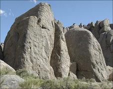 Rock Climbing Photo: The Nuts. Photo by Blitzo.